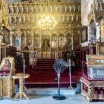 Храм на Кипре - г. Лорнака - где покоятся мощи святого прав. Лазаря Черверодневного