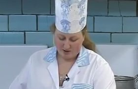 Пост. Рисовые котлеты с грибным соусом от повара семинарской трапезной