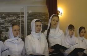 """Православный девичий хор """"УМИЛЕНИЕ. Тропарь Пасхи. Придворный распев"""