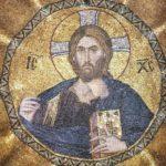 Мозаика. Византия.Тропарь и кондак Пасхи. Хор