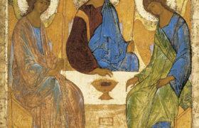 Икона Святой Троицы. Андрей Рублев