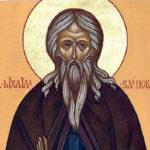 Жития святых. Преподобный Михаил Клопский, Христа ради юродивый